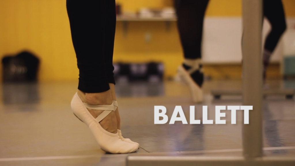 Trailer Ballettunterricht