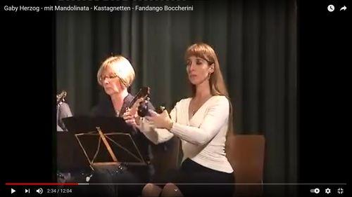 Fandango von Boccherini mit Mandolinen-Orchester