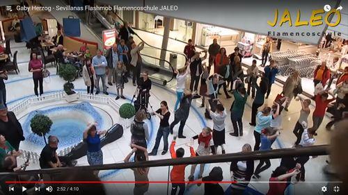 Sevillanas Flashmob Luisenforum