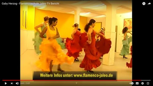 TV Bericht über die Flamencoschule
